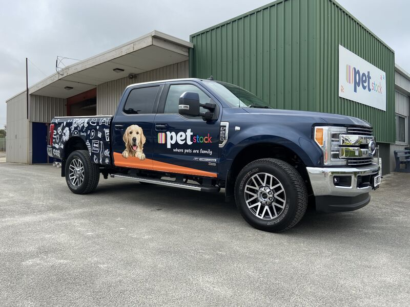 Full Wrap - Pet Stock Ford F250