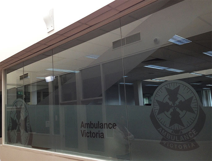 Ambulance Victoria Business Signage