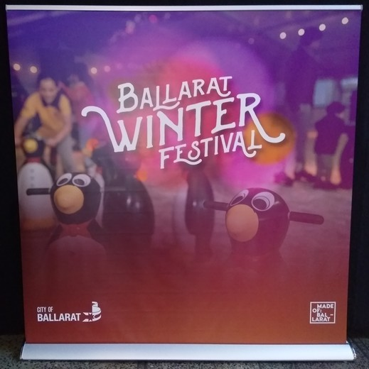 Ballarat Winter Festival Pull Up Banner