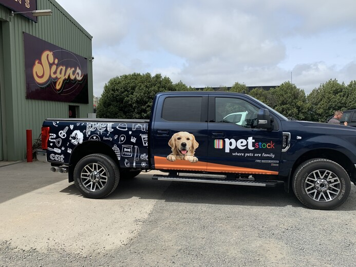 Pet Stock Ute